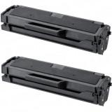 Set 2 cartuse toner compatibile Samsung MLT-D111L, Negru, 2 X 1.800 pagini