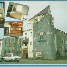 Romania, Piatra Fantanele, Hotel Castel Dracula, carte postala ilustrata necirc.