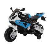 Homcom Motoreta Electrica pentru Copii BMW RR 12V, Negru si Albastru