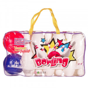 Set bowling Liveup Junior, 12 popice, 2 bile