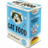 Cutie de depozitare metalica - Cat Food