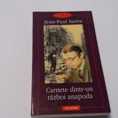 Carnete dintr-un razboi anapoda - Jean-Paul Sartre-P8
