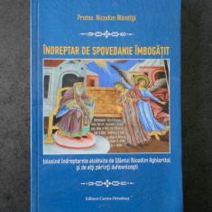 NICODIM MANDITA - INDREPTAR DE SPOVEDANIE IMBOGATIT