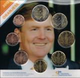SET 8 monede euro OLANDA 2015 (Oranjeset) - UNC