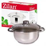Oala Inox cu Capac 16L Zilan Cocinera ZLN7307