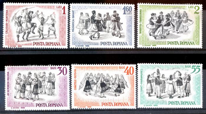 1965 LP626 Serie Dansuri populare romanesti