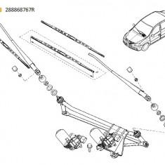 Brat Stergator Parbriz Dreapta Pasager Dacia Logan 2007-2012 , Sandero 2008-2012