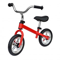 Bicicleta fara pedale 10 red Nordic Hoj for Your BabyKids