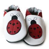 Pantofi cu talpa moale Liliputi Miss Ladybug