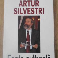 FAPTA CULTURALA - ARTUR SILVESTRI