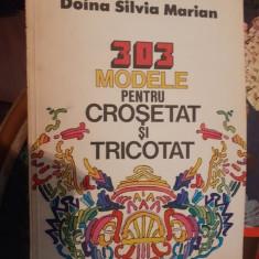 303 modele pentru tricotat si crosetat – Doina Silvia Marian