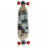 Longboard Drop Shape Surfer Black 42 inch