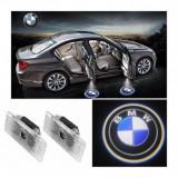 Holograme proiectoare led lumini ghost shadow BMW logo led