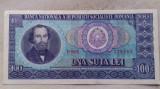 BANCNOTA 100 LEI 1966-ROMANIA