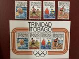 Trinidad si tobago - Timbre sport, jocurile olimpice 1984, nestampilate MNH, Nestampilat