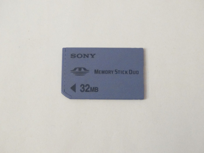 Card memorie SONY Memory Stick Duo 32 MB