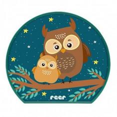 Lampa de veghe MyBabyLight Owl Reer, 3 W, LED, Multicolor