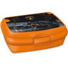 Cutie pentru sandwich Lamborghini portocaliu