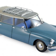 Macheta Auto Norev, Citroen ID 19 Break 1967 - Monte Carlo Albastru 1:18