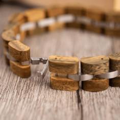 Bratara din lemn, dama S04-4