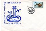 Romania 1987, Expo Filatelica Ziua Minerului, Minerit, Petrila
