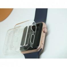 Carcasa de protectie Apple Watch, 42/44mm, transparent