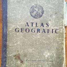 Atlas geografic 1953, Ed. de stat pentru literatura stiintifica