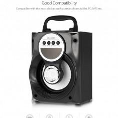 Boxa wireless portabila cu bass bluetooth aux fm