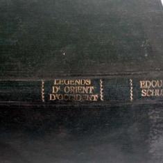 LEGENDES D'ORIENT ET D'OCCIDENTAVEC QUATRE AQUARELLES DE MAGGY MONIER , EDOUARD SCHURE