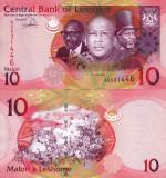 LESOTHO 10 maloti 2013 UNC!!!