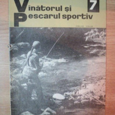 REVISTA ''VANATORUL SI PESCARUL SPORTIV'', NR. 7 IULIE 1968