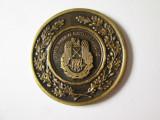 Rara! Medalia Sefului Statului Major al fortelor terestre general lc.Ioan Sorin