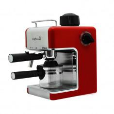 Espressor cafea Samus Caffeccino, 800 W, presiune 3.5 bari, rezervor 240 ml, Rosu