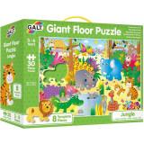 Cumpara ieftin Giant Floor Puzzle, Jungla, 30 piese, Galt