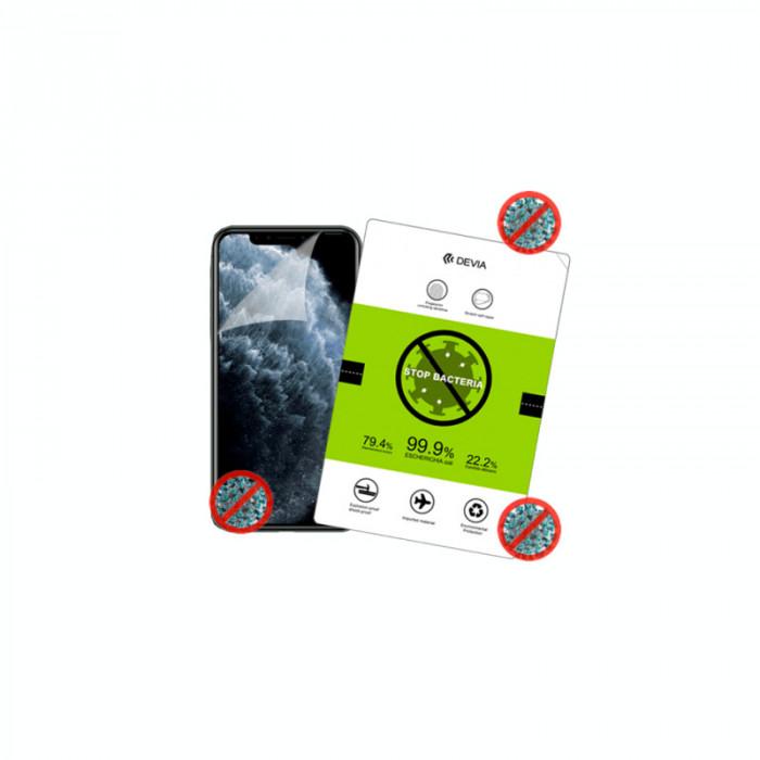 Folie Protectie Ecran (Silicon, Anti-Bacterial) Huawei Mate Xs , Devia Transparent, Blister