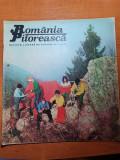Romania pitoreasca martie 1972-art. si foto valea bistritei,jud. harghita,agnita