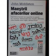 MAESTRII AFACERILOR ONLINE-JOHN MIDDLETON