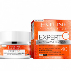 Crema antirid Eveline Cosmetics Expert C 40+ 50ml