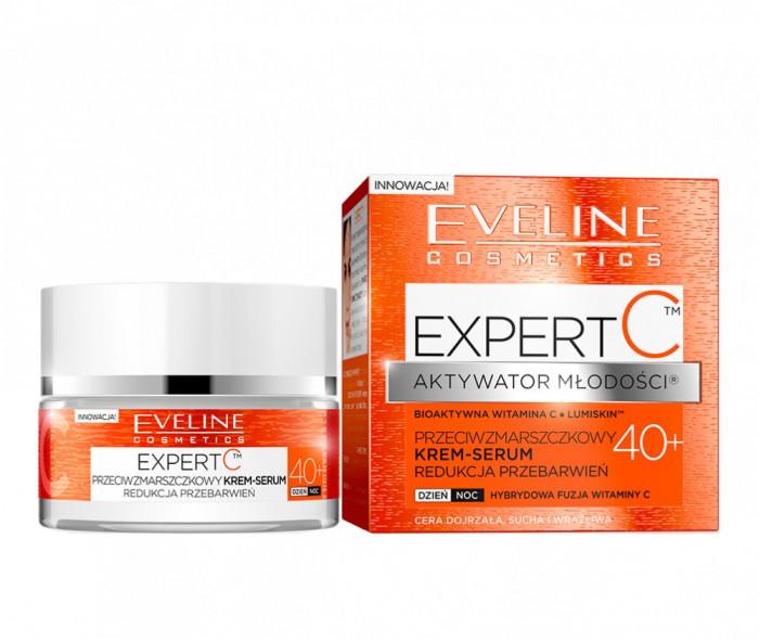 Crema antirid Eveline Cosmetics Expert C 40+ 50ml