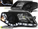 Faruri compatibile cu VW PASSAT B6 3C 03.05-10 DAYLIGHT Negru
