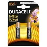 Baterie Duracell Basic AAA LR03 2buc Negru