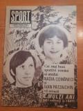 Sport decembrie 1980-nadia comaneci si ivam patzaichin sportivii anului