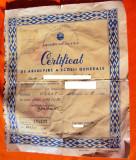 Certificat de  absolvire   scoala   generala