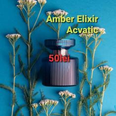 Parfum Amber Elixir Acvatic