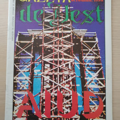 gazeta de vest octombrie 1994-revista legionara,radu gyr