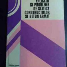 Aplicatii Si Probleme De Statica Constructiilor Si Beton Arma - C. Pavel, D. Petre ,547620