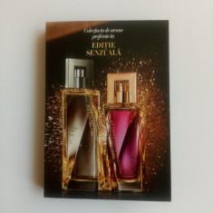 Mostre in sticlute cu brochura - Attraction Sensation ea si el - Avon - NOU