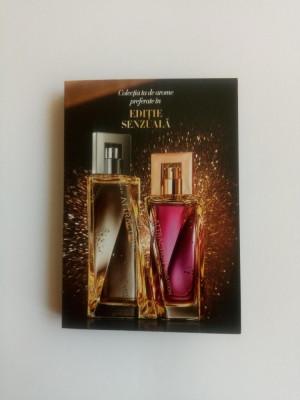 Mostre in sticlute cu brochura - Attraction Sensation ea si el - Avon - NOU foto