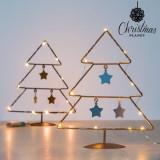 Cumpara ieftin Pom de Craciun cu Stele (10 LED-uri)