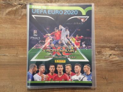 Panini Road to Euro 2020 Adrenalyn XL Binder si 275 carduri Team Mates diferite foto